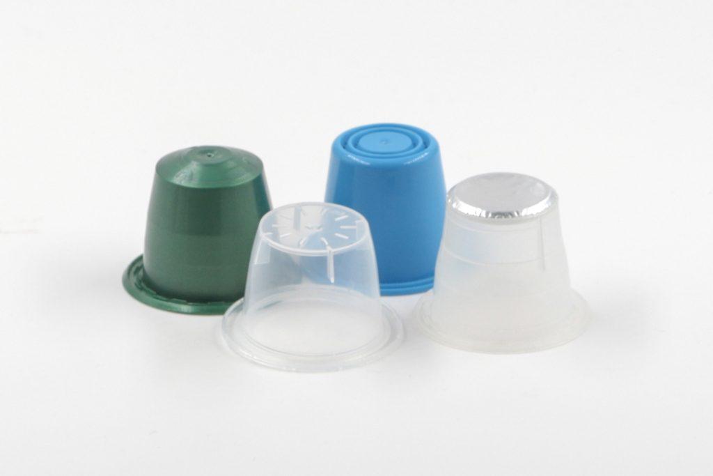 Round Coffee capsules