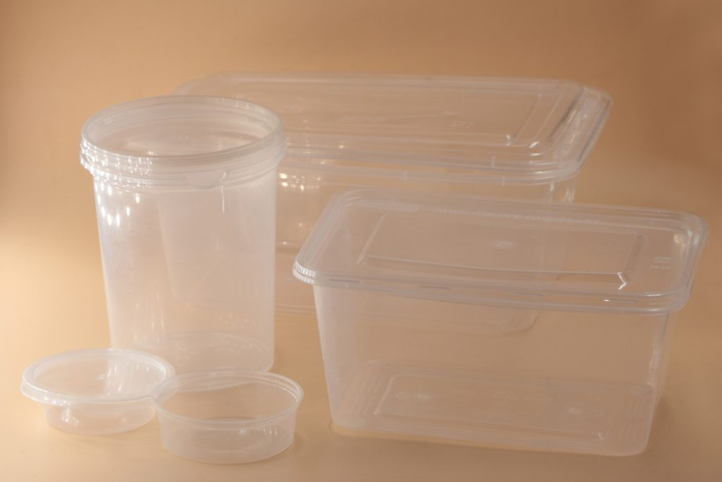 Thin Wall Round, square, oval containers